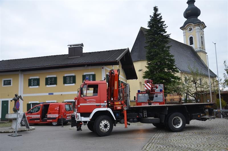 Weihnachtsbaum Service.Weihnachtsbaum Aus Arnsdorf Für Die Stadt Salzburg